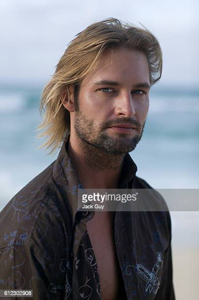 Actor Josh Holloway is photographed for TV Guide Magazine on October 4 2004