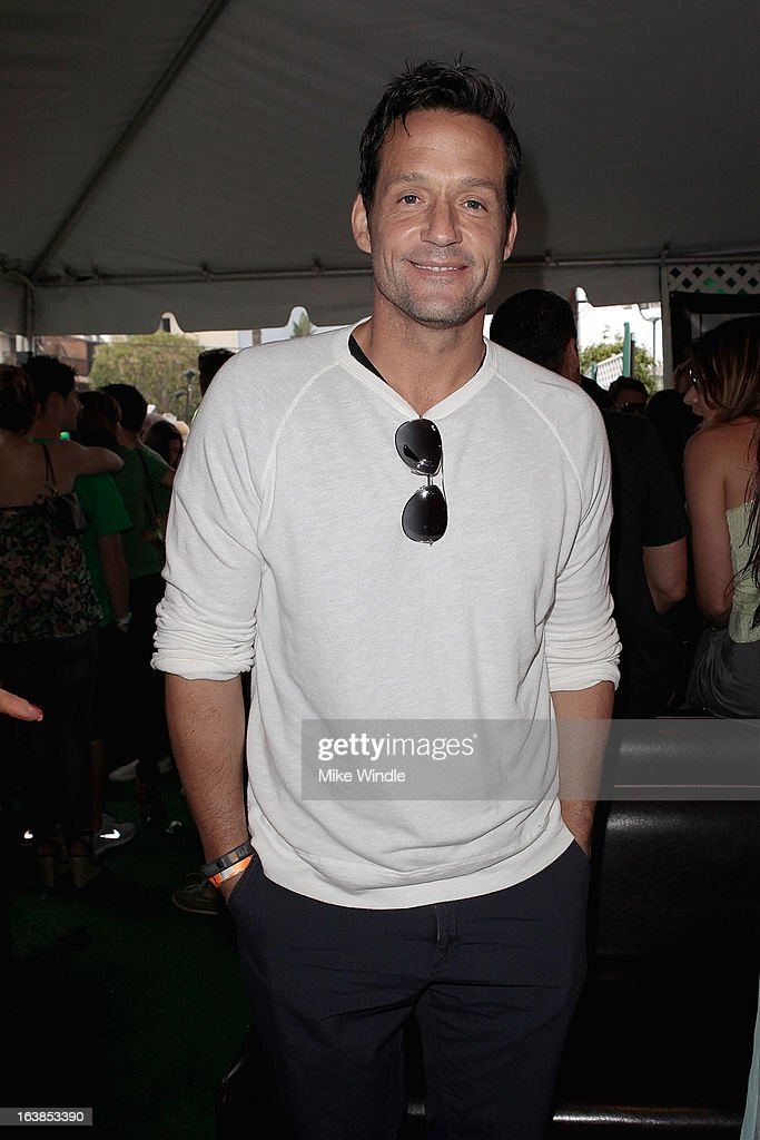 Actor Josh Hopkins attends Rock & Reilly's Irish Rock Pub hosts 2nd annual St. Paddy's block party on Sunset Strip on March 16, 2013 in West Hollywood, California.
