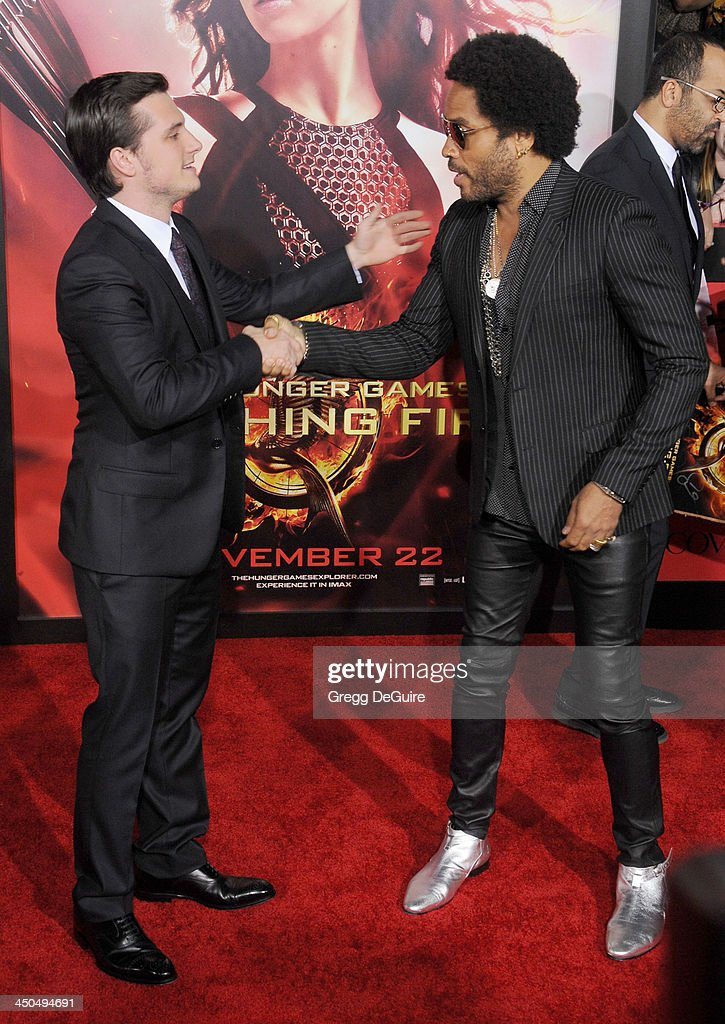 """""""The Hunger Games: Catching Fire"""" - Los Angeles Premiere - Arrivals : News Photo"""