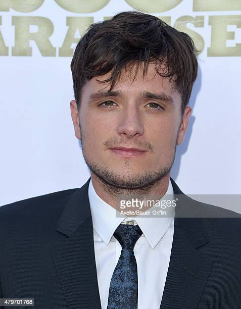 Actor Josh Hutcherson arrives at the Los Angeles premiere of 'Escobar Paradise Lost' at ArcLight Hollywood on June 22 2015 in Hollywood California