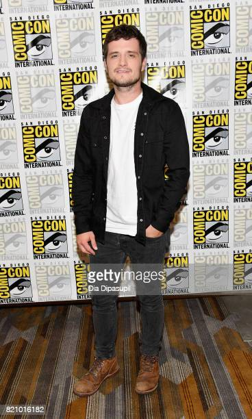 Actor Josh Hutcherson at Hulu's Future Man Press Line duirng ComicCon International 2017 at Hilton Bayfront on July 22 2017 in San Diego California