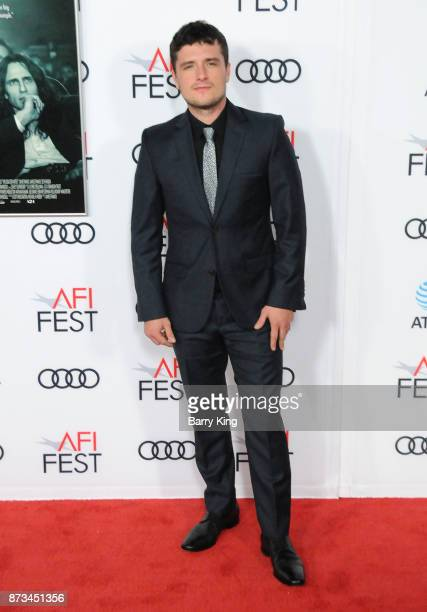 Actor Josh Hutcherson attends AFI FEST 2017 presented by Audi xcreening of 'The Disaster Artist' at TCL Chinese Theatre on November 12 2017 in...