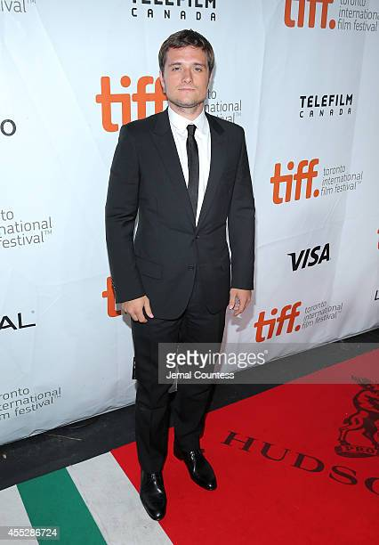 Actor Josh Hutcherson attends the Escobar Paradise Lost premiere during the 2014 Toronto International Film Festival at Roy Thomson Hall on September...