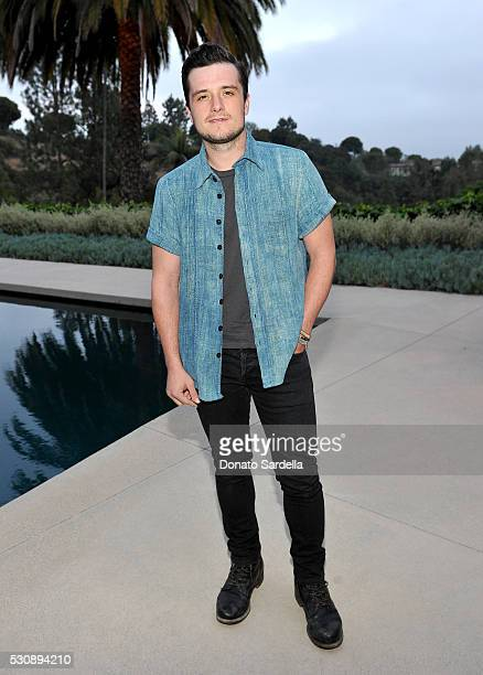 Actor Josh Hutcherson attends the launch of Studio 189 for yooxcom Collection at a private residence on May 11 2016 in Beverly Hills California
