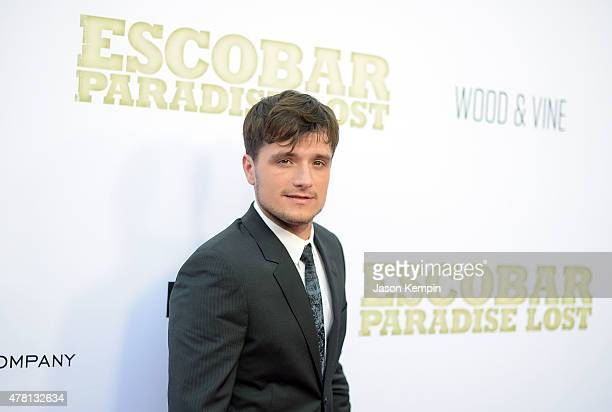 Actor Josh Hutcherson attends the premiere of Escobar Paradise Lost at ArcLight Hollywood on June 22 2015 in Hollywood California