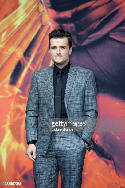 Actor Josh Hutcherson attends the world premiere of the film 'The Hunger Games Mockingjay Part 2' in Berlin Germany 4 November 2015 Photo Britta...