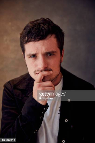 Actor Josh Hutcherson from Hulu's 'Future Man' poses for a portrait during ComicCon 2017 at Hard Rock Hotel San Diego on July 22 2017 in San Diego...