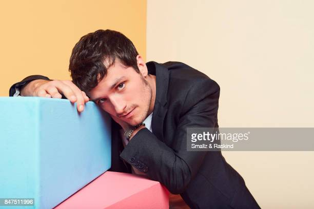 Actor Josh Hutcherson of Hulu's 'Future Man' poses for a portrait during the 2017 Summer Television Critics Association Press Tour at The Beverly...