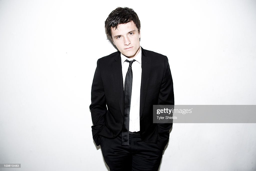 Actor Josh Hutcherson poses at a portrait session for Self Assignment in Los Angeles, CA on August 6, 2009. (Photo by Tyler Shields/ Contour by Getty Images).