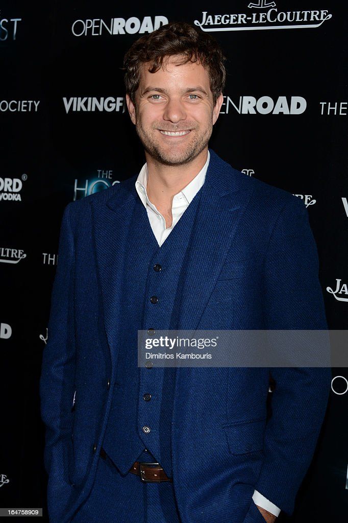 Actor Josh Jackson attends The Cinema Society and Jaeger-LeCoultre screening of Open Road Films' 'The Host' at Tribeca Grand Hotel on March 27, 2013 in New York City.