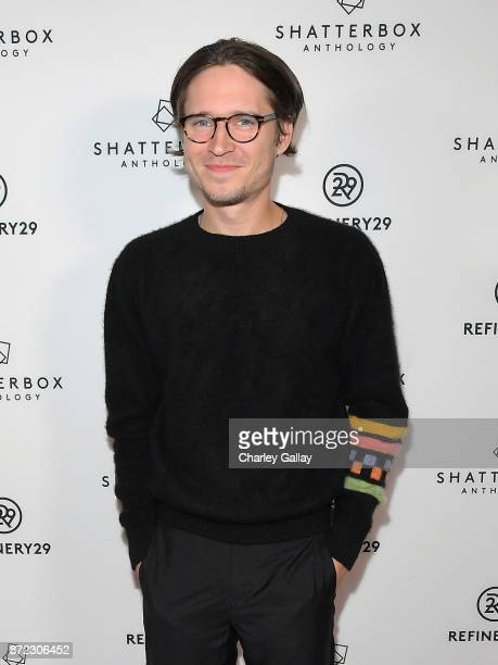 Actor Josh Kaye at Refinery29's Shatterbox Anthology Premiere Of Kristen Stewart's 'COME SWIM' on November 9 2017 in Los Angeles California