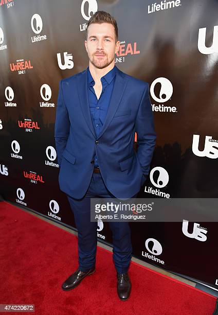 Actor Josh Kelly attends Lifetime and Us Weekly's premiere party for 'UnReal' at SIXTY Beverly Hills on May 20 2015 in Beverly Hills California