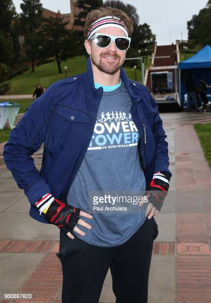 Actor Josh Kelly attends the Power Of Tower run/walk at UCLA on March 11 2018 in Los Angeles California