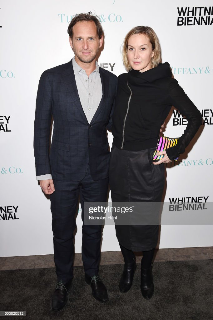 Actor Josh Lucas and Artist Kaari Upson attend the 2017 Whitney Biennial presented by Tiffany & Co. at The Whitney Museum of American Art on March 15, 2017 in New York City.