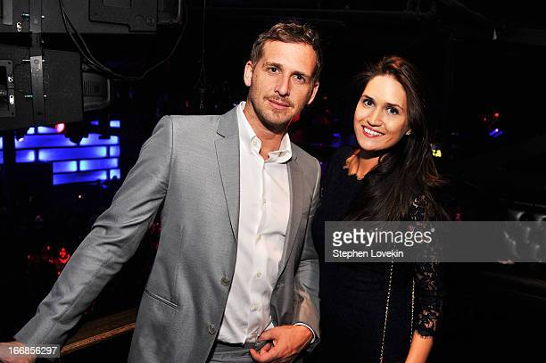 Actor Josh Lucas and Jessica Lucas attend the Opening Night After Party and Performance during the 2013 Tribeca Film Festival on April 17, 2013 in...