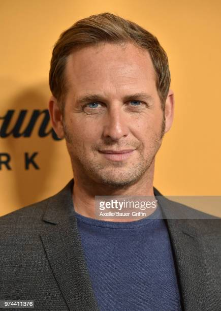 Actor Josh Lucas arrives at the premiere of Paramount Pictures' 'Yellowstone' at Paramount Studios on June 11, 2018 in Hollywood, California.