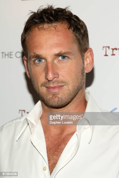 """Actor Josh Lucas attends a screening of """"Trumbo"""" hosted by the Cinema Society & ACLU at Tribeca Cinemas June 16, 2008 in New York City."""