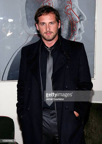 Actor Josh Lucas attends Dolce Gabbana's The One Fragrance Launch and Private Dinner on December 4 2007 at the Gramercy Park Hotel in New York City