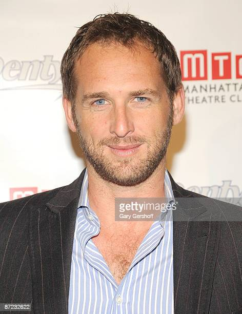 Actor Josh Lucas attends Manhattan Theatre Club's REALationships Playwright Contest at the New York City Center on May 14 2009 in New York City