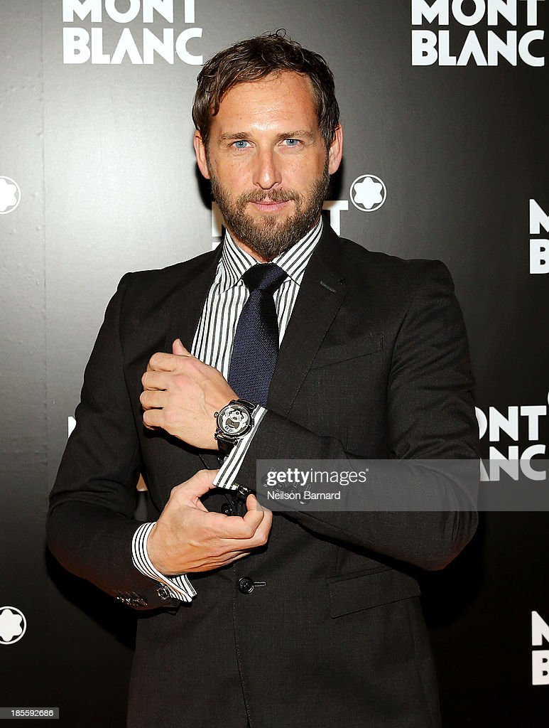 Actor Josh Lucas attends Montblanc celebrates Madison Avenue Boutique Opening at Montblanc Boutique on Madison Avenue on October 22, 2013 in New York City.