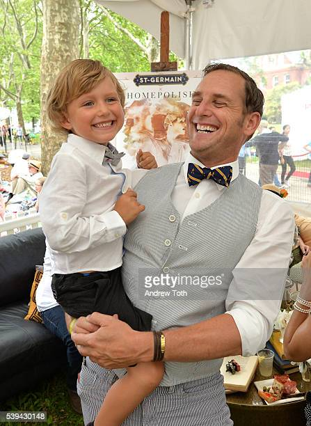 Actor Josh Lucas attends the 11th Annual Jazz Age Lawn Party Sponsored By St-Germain at Governors Island on June 11, 2016 in New York City.
