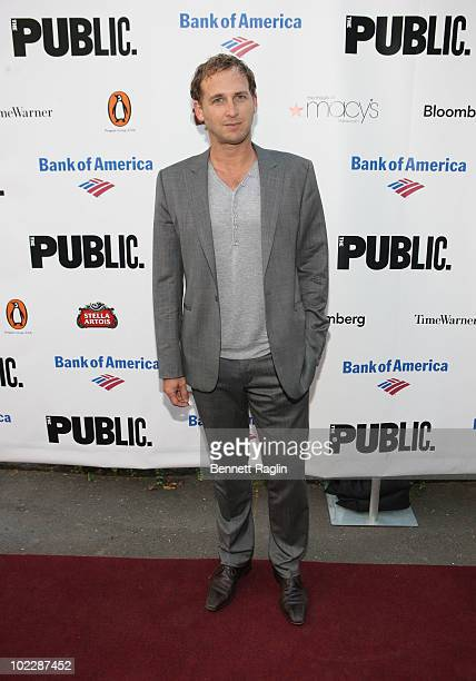 Actor Josh Lucas attends the 2010 Public Theater Gala at the Delacorte Theater on June 21 2010 in New York City