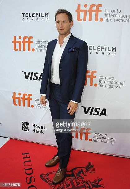 Actor Josh Lucas attends the 'Boychoir' premiere during the 2014 Toronto International Film Festival at Roy Thomson Hall on September 5 2014 in...