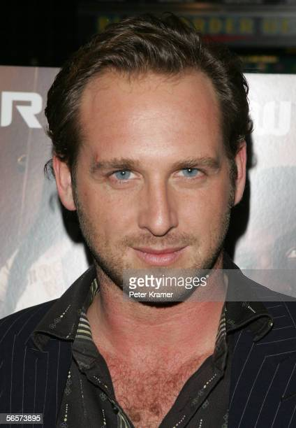 Actor Josh Lucas attends the Disney Pictures screening of Glory Road at the Clearview Chelsea West Cinemas on January 11 2006 in New York City