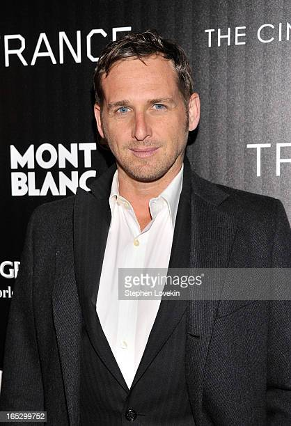 Actor Josh Lucas attends the premiere of Fox Searchlight Pictures' Trance hosted by The Cinema Society Montblanc at SVA Theater on April 2 2013 in...