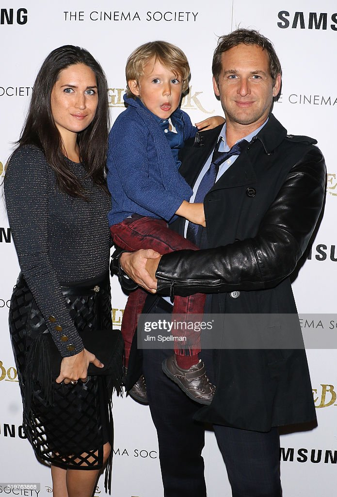 Actor Josh Lucas (R) attends the screening of 'The Jungle Book' hosted by Disney with The Cinema Society and Samsung at AMC Empire 25 theater on April 7, 2016 in New York City.