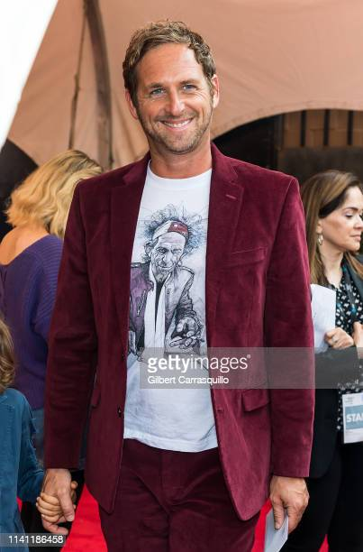 Actor Josh Lucas is seen arriving to The Closing Night Gala Film and World Premiere of 'Yesterday' during the Tribeca Film Festival at BMCC Tribeca...