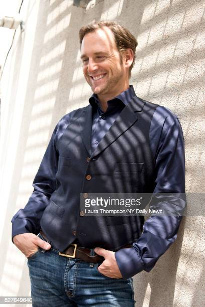 Actor Josh Lucas photographed for the NY Daily News on April 27 in New York City.
