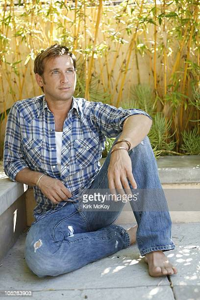 Actor Josh Lucas poses for a portrait session on September 1 Los Angeles CA Published Image CREDIT MUST READ Kirk McKoy/Los Angeles Times/Contour by...