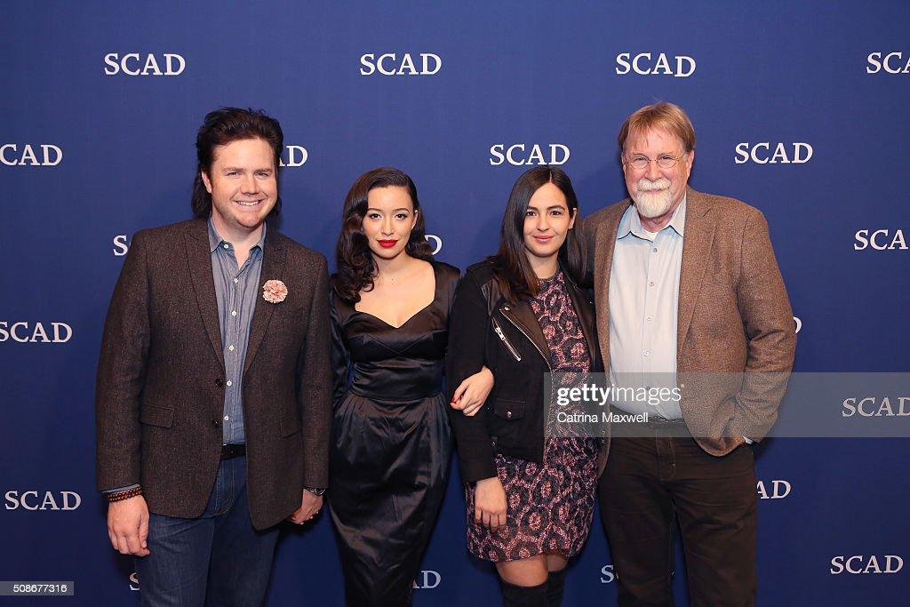 Actor Josh McDermitt, actress Christian Serratos, actress Alanna Masterson, actress Alanna Masterson and production manager and producer Tom Luse attend 'The Walking Dead' event during aTVfest 2016 presented by SCAD on February 5, 2016 in Atlanta, Georgia.