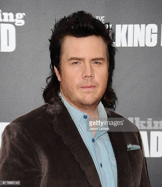 Actor Josh McDermitt attends the live 90minute special edition of 'Talking Dead' at Hollywood Forever on October 23 2016 in Hollywood California