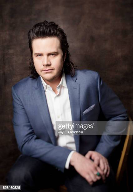 Actor Josh McDermitt from AMC's 'The Walking Dead is photographed during Paley Fest for Los Angeles Times on March 17 2017 in Los Angeles California...