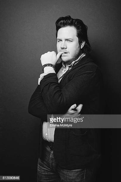 Actor Josh McDermitt is photographed for The Wrap on January 13 2016 in Los Angeles California