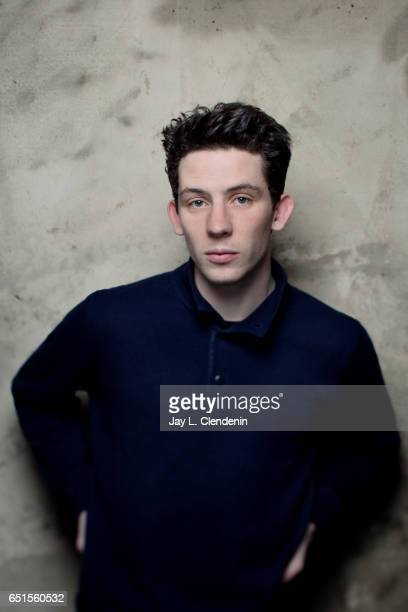 Actor Josh O'Connor from the film God's Own Country is photographed at the 2017 Sundance Film Festival for Los Angeles Times on January 23 2017 in...