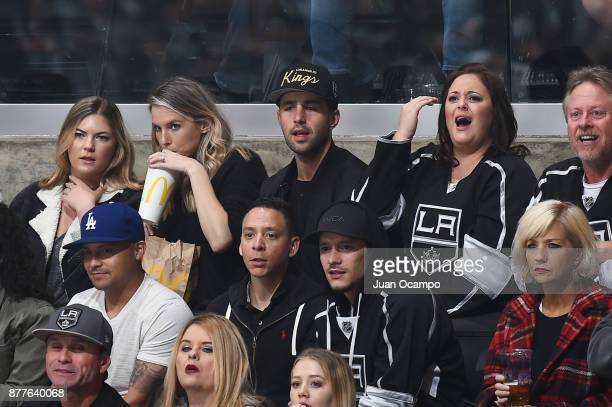 Actor Josh Peck attends a game between the Winnipeg Jets and the Los Angeles Kings at STAPLES Center on November 22 2017 in Los Angeles California