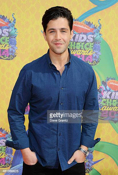 Actor Josh Peck attends Nickelodeon's 27th Annual Kids' Choice Awards held at USC Galen Center on March 29 2014 in Los Angeles California