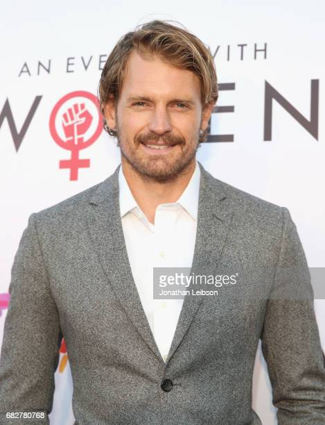 Actor Josh Pence at the Los Angeles LGBT Center's An Evening With Women at Hollywood Palladium on May 13 2017 in Los Angeles California
