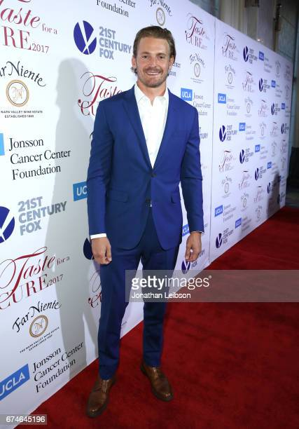 Actor Josh Pence attends the UCLA Jonsson Cancer Center Foundation Hosts 22nd Annual Taste for a Cure event honoring Yael and Scooter Braun at the...