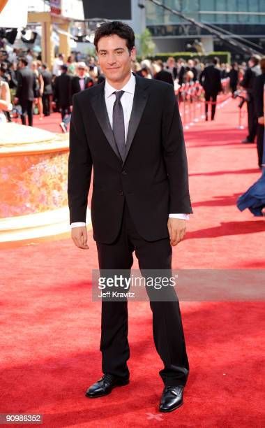 Actor Josh Radnor arrives at the 61st Primetime Emmy Awards held at the Nokia Theatre on September 20 2009 in Los Angeles California