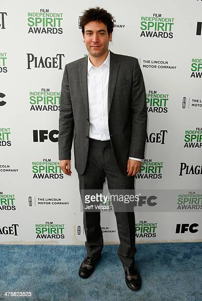 Actor Josh Radnor attends the 2014 Film Independent Spirit Awards at Santa Monica Beach on March 1 2014 in Santa Monica California
