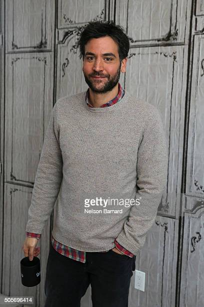 Actor Josh Radnor attends the AOL Build Speaker Series and discusses 'Mercy Street' at AOL Studios In New York on January 19 2016 in New York City