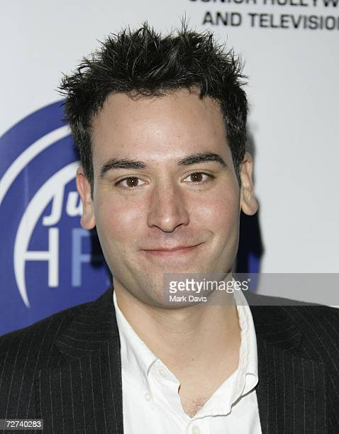 Actor Josh Radnor attends the Hollywood Radio & Television Society's Young Hollywood party held at the Vanguard on December 5, 2006 in Los Angeles,...
