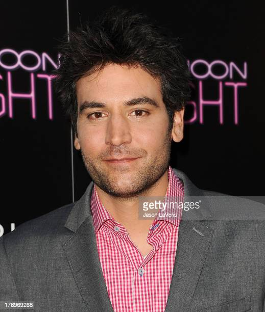 Actor Josh Radnor attends the premiere of 'Afternoon Delight' at ArcLight Hollywood on August 19 2013 in Hollywood California