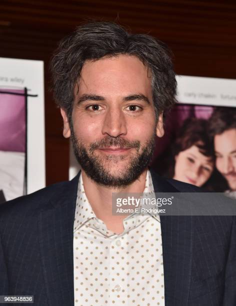 Actor Josh Radnor attends the Premiere Of Paramount Pictures And Vertical Entertainment's Social Animals at The Landmark on May 30 2018 in Los...