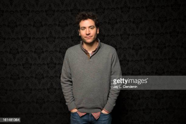 Actor Josh Radnor is photographed at the Sundance Film Festival for Los Angeles Times on January 21 2013 in Park City Utah PUBLISHED IMAGE CREDIT...