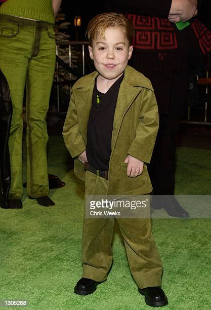 Actor Josh Ryan Evans attends the premiere of Dr Seuss'' How The Grinch Stole Christmas November 8 2000 at Universal City in Los Angeles CA